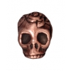 Spacer Skull 10mm Antique Copper